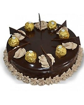 Ferrero Rocher Chocolate Birthday Cake