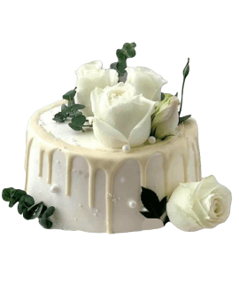 Fresh Cream Birthday Cake