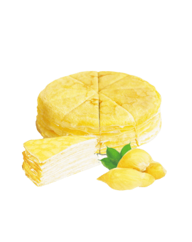 Fresh Cream Birthday Cake - Durian Filling