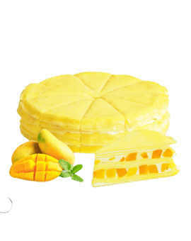 Fresh Cream Birthday Cake - Mango Filling