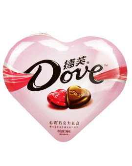 Dove Milk Chocolates Box - Sweet Heart Shape