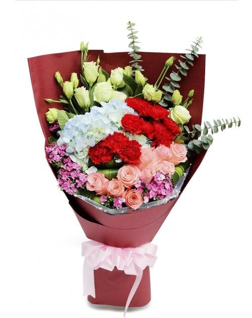 Mixed Flowers Bouquet