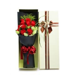11 Red Roses in Luxuy Box