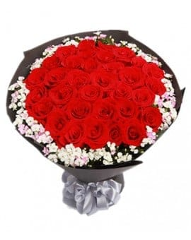 33 Red Roses